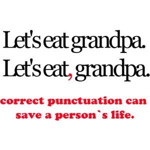 Don't belittle punctuations   Supyan Hussin's Blog