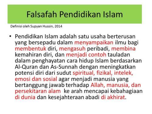 FALSAFAH PENDIDIKAN ISLAM DR SUPYAN