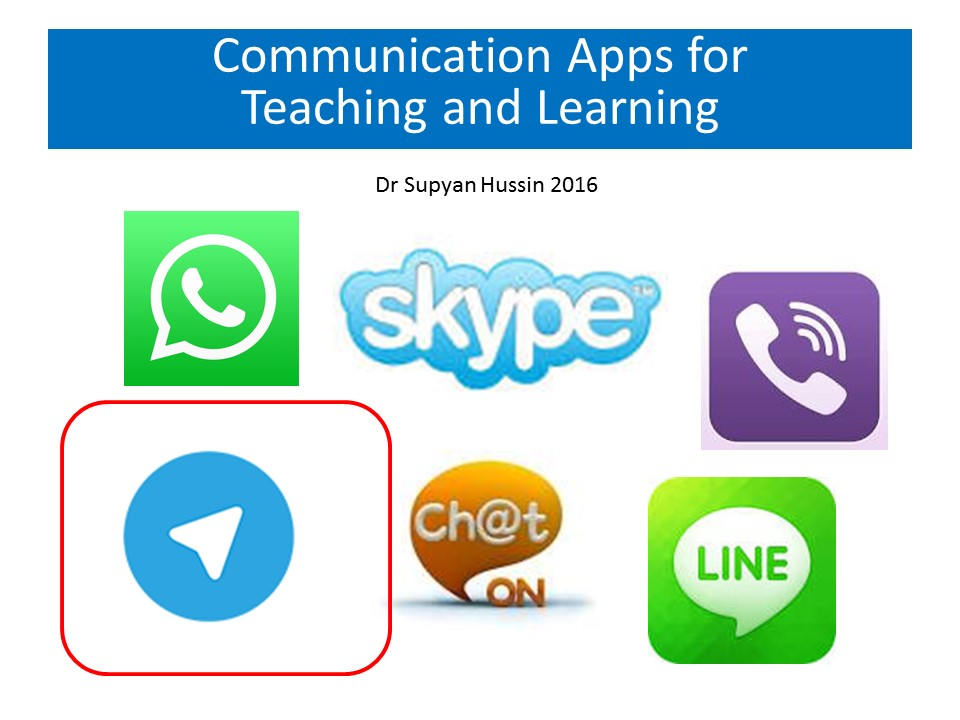 Telegram app for teaching and learning | Supyan Hussin's Blog