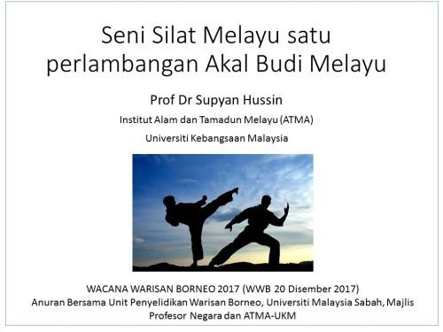 Seni Silat Melayu satu manifestasi Akal Budi Melayu